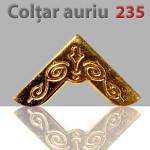 Coltar 235 auriu